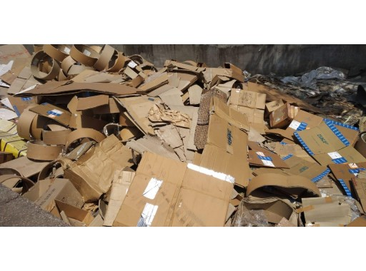 26-MS0307015 - Used Corrugated Box/ Sheet (3510 Kgs)