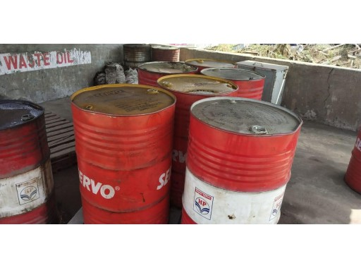 34-MS1099005 - Used Oil With Drum Cap. 210 Ltrs. (Full) (40 Unit)
