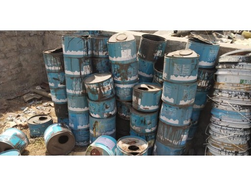 44-MS0302006 - MS Empty Paint Drum 10 Ltr (500 Unit)