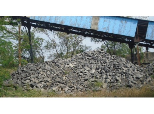 21-GIL-21 - Coal Stone Waste Pieces Scrap