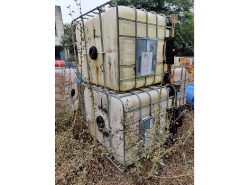 42-GIL-42 - USED PVC Tank 1000 Ltr.( All type)