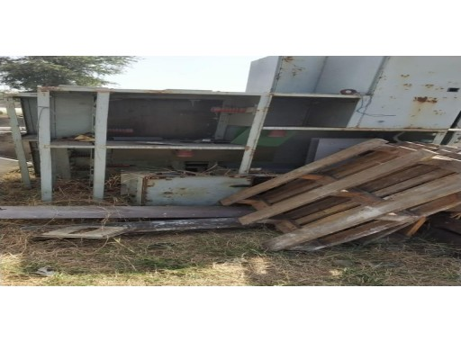 31-MS0103035 - MS With FRP/Rubber Lining Scrap (1330 Kgs)