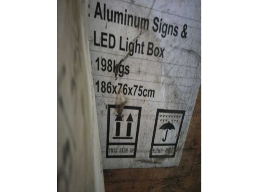 20-NE-120 - Aluminium Sign Led Light Box